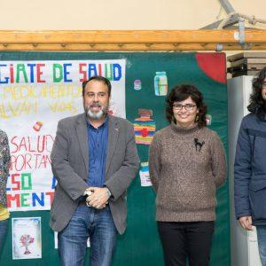 l colegio 'San Lucas y María' conmemora el Día Mundial de la Salud de la mano del Ayuntamiento y Médicos del Mundo