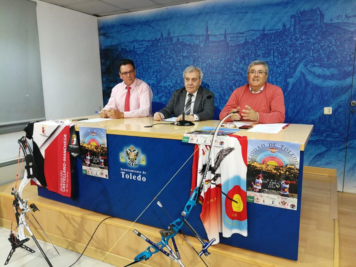 http://www.toledo.es/wp-content/uploads/2019/04/gran-premio-de-espana-ciudad-de-toledo-tiro-con-arco-1200x900.jpeg. El campo de tiro con arco del Polígono acoge este fin de semana el Primer Gran Premio de España 'Ciudad de Toledo' con apoyo local