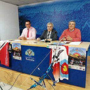 l campo de tiro con arco del Polígono acoge este fin de semana el Primer Gran Premio de España 'Ciudad de Toledo' con apoyo local