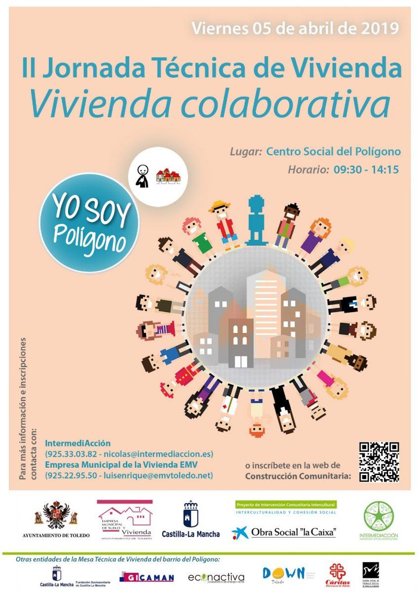 http://www.toledo.es/wp-content/uploads/2019/04/ii-jornada-tecnica-de-vivienda-847x1200.jpeg. JORNADA DE VIVIENDA COLABORATIVA. 5 DE ABRIL.