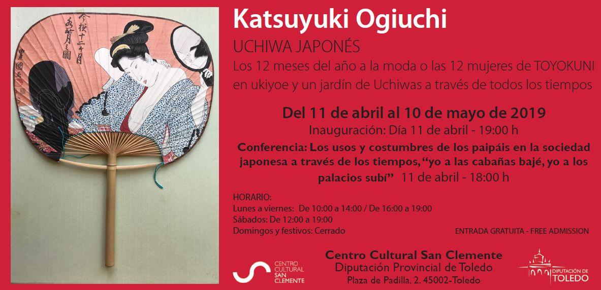 https://www.toledo.es/wp-content/uploads/2019/04/invitacion-japones.jpg. Inauguración Exposición Katsuyuki Ogiuchi