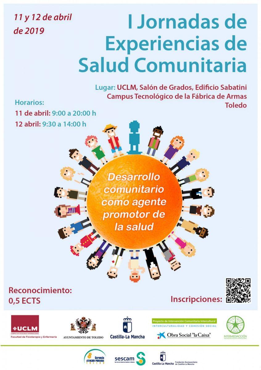 http://www.toledo.es/wp-content/uploads/2019/04/jornadas-salud-comunitaria-1-requetedefinito-846x1200.jpg. I JORNADAS DE EXPERIENCIAS DE SALUD COMUNITARIA. 11 Y 12 ABRIL.