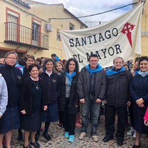 l Ayuntamiento muestra su apoyo y colabora en la XIV Marcha Solidaria del Colegio Santiago el Mayor a favor de Ecuador