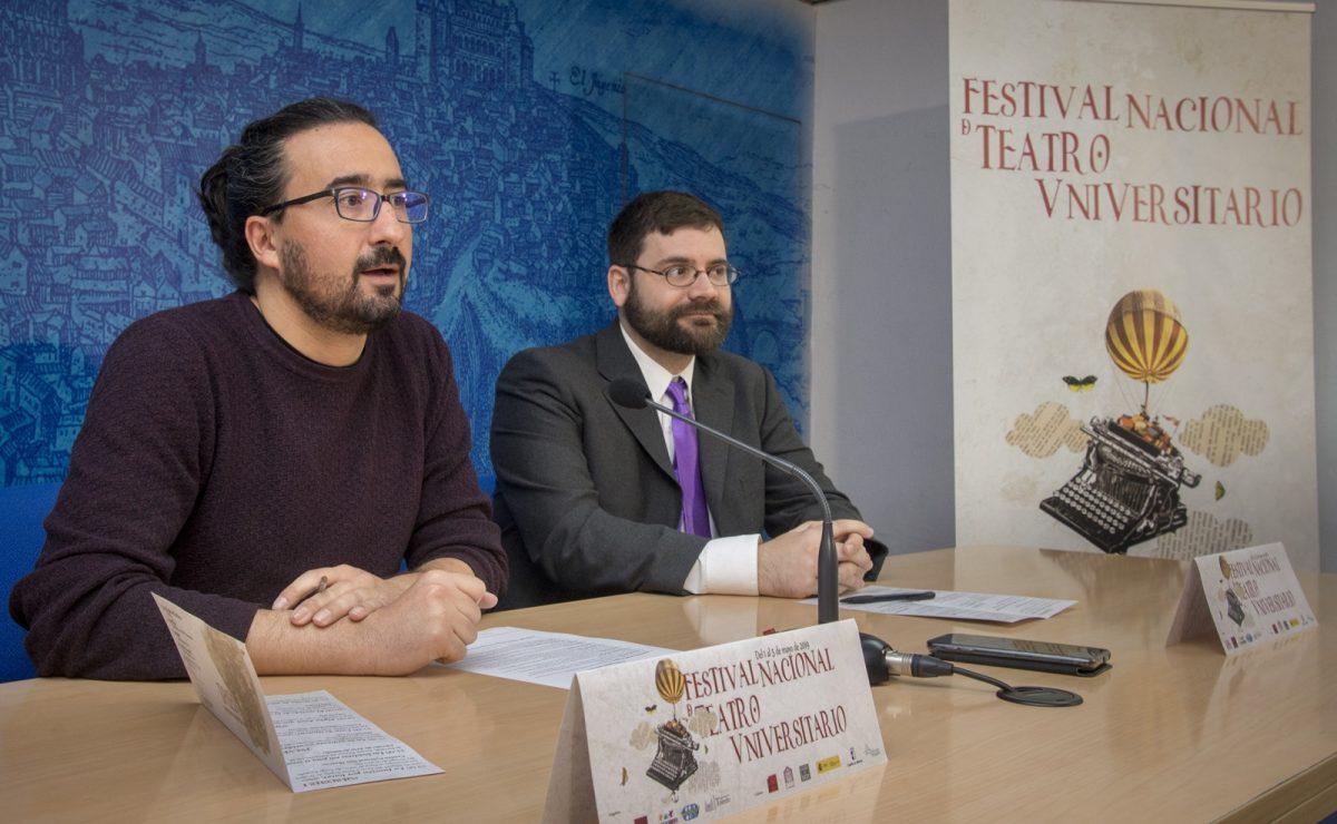 http://www.toledo.es/wp-content/uploads/2019/04/presentacion-festival-teatro-universitario-02-1200x740.jpg. El Ayuntamiento respalda el Festival Nacional de Teatro Universitario que este año sale a la calle en las Noches Toledanas
