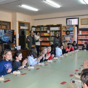 os escolares del colegio 'Santa Teresa' se acercan a la artesanía toledana gracias a los talleres de damasquinado de 'Toledo Educa'