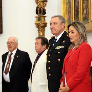 a alcaldesa comparte la romería del Santo Ángel Custodio con los cientos de toledanos que acuden a este emblemático cigarral