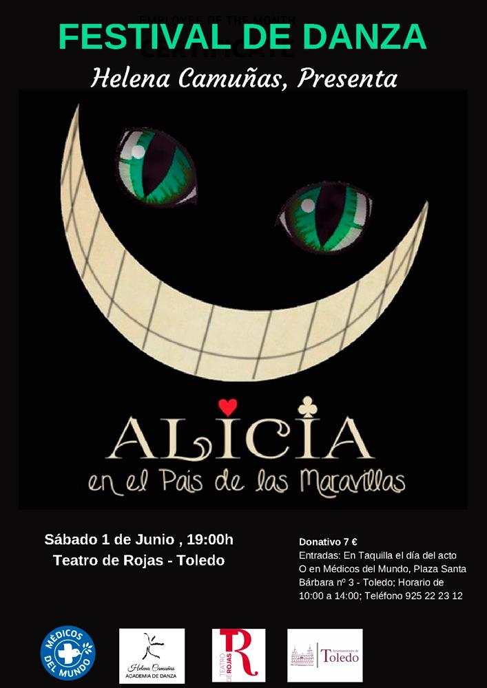 http://www.toledo.es/wp-content/uploads/2019/05/cartel-danza.jpg. Festival de danza en Teatro de Rojas: Alicia en el pais de las maravillas