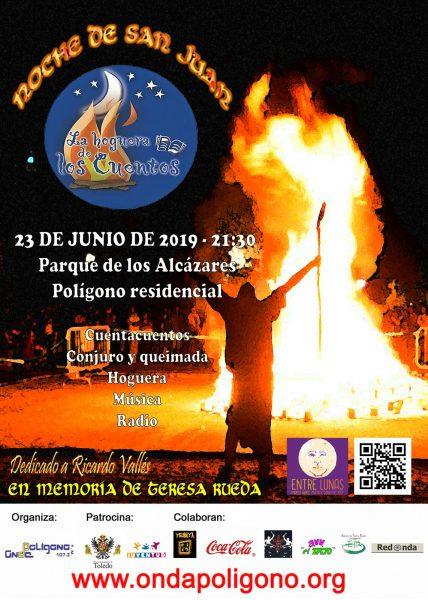 cartel hoguera cuentos 2019