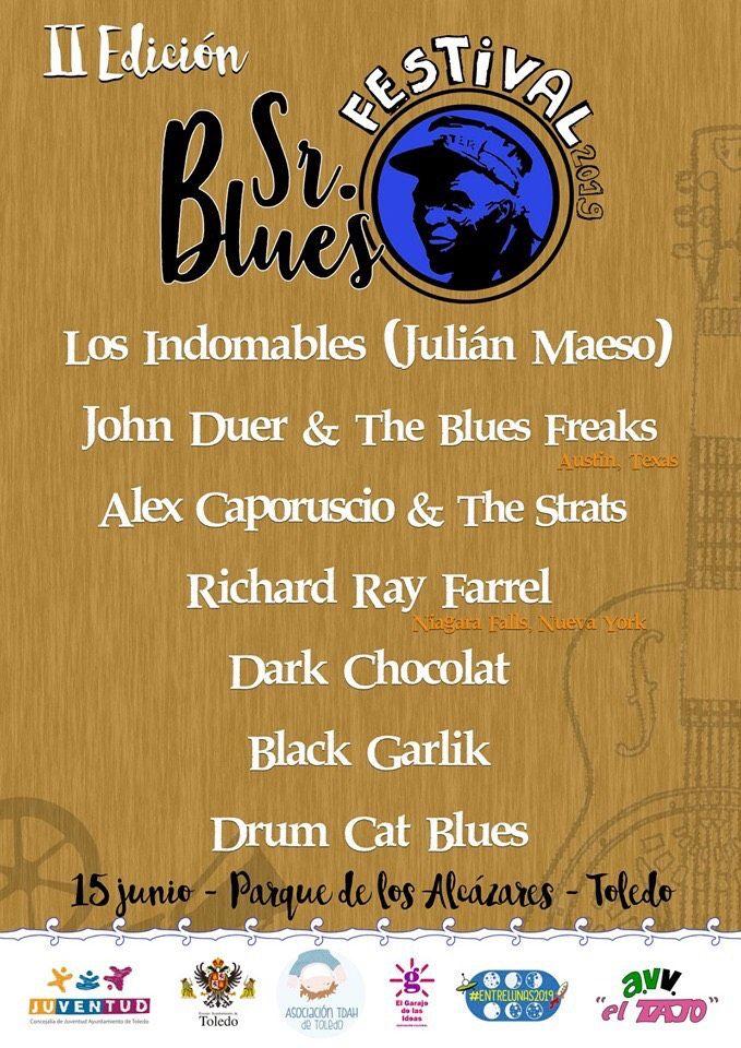 http://www.toledo.es/wp-content/uploads/2019/05/festival-sr-blues.jpg. El Sr. Blues Festival regresa este año al Parque de los Alcázares con más bandas y artistas como Richard Ray Farre o Virginia Maestro