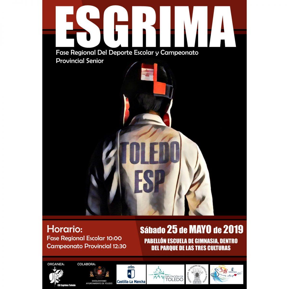 http://www.toledo.es/wp-content/uploads/2019/05/img-20190520-wa0006-1200x1200.jpg. Fase Regional Escolar y Campeonato Provincial Senior de Esgrima