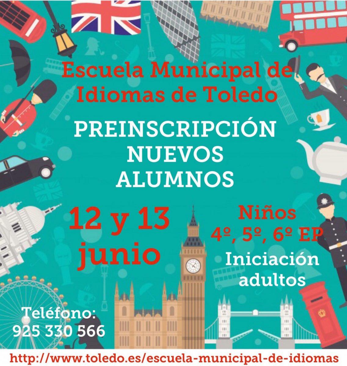 http://www.toledo.es/wp-content/uploads/2019/05/img_3030-1137x1200.jpg. Escuela de Idiomas. Preinscripciones y matrículas: alumnos de nuevo ingreso