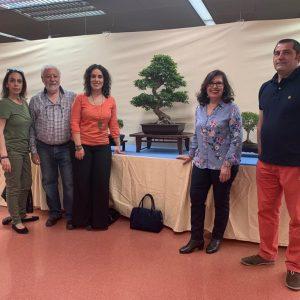 l Gobierno municipal asiste a la inauguración de la exposición del 'Club Bonsái Toledo' que se podrá visitar hasta el domingo en el Centr