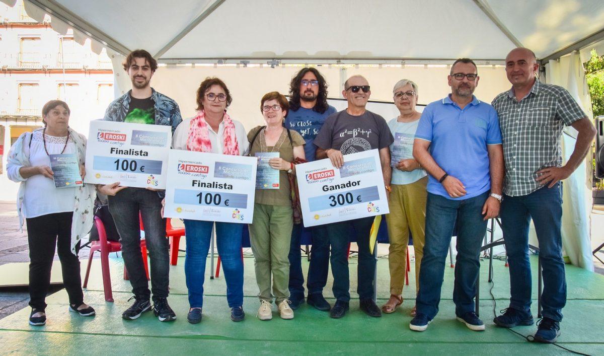 """http://www.toledo.es/wp-content/uploads/2019/05/jp2_1076-1200x707.jpg. """"Duerme la niña"""", de Gregorio Martín-Blas, obra ganadora del certamen solidario de microrrelatos """"Toledo contigo"""""""