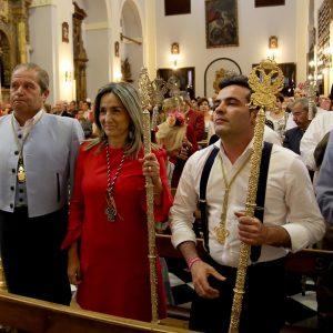 ilagros Tolón acompaña a la Hermandad del Rocío de Toledo en su tradicional romería a La Peraleda
