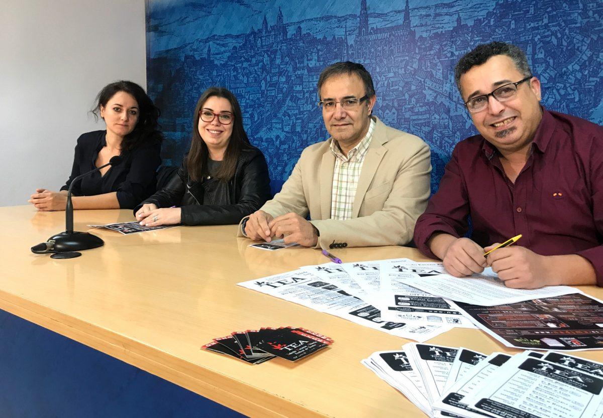http://www.toledo.es/wp-content/uploads/2019/05/presentacion-festival-tea-1200x833.jpg. El Ayuntamiento colabora con el Festival de Teatro Independiente TEA que arranca este jueves con diez espectáculos vanguardistas