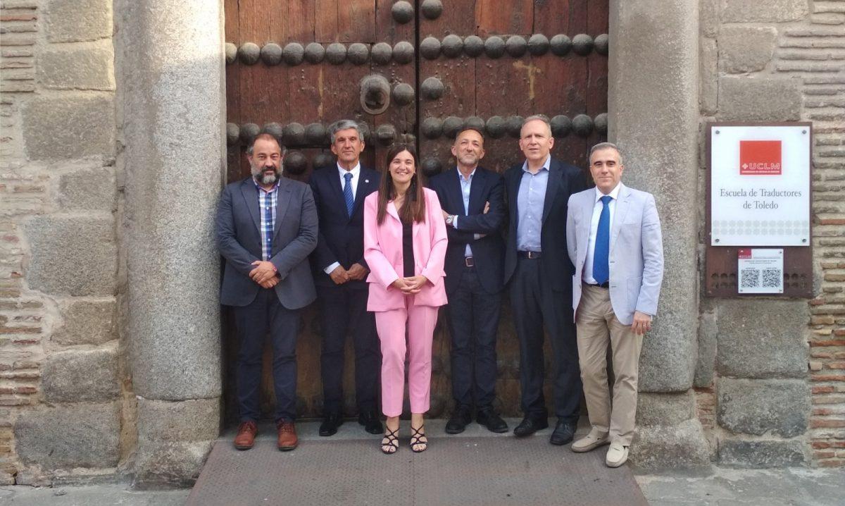 """http://www.toledo.es/wp-content/uploads/2019/05/presentacion_escuela_traductores2-1200x718.jpg. El Gobierno local recaba el apoyo de la Escuela de Traductores para la conmemoración del VIII Centenario de Alfonso X """"El Sabio"""""""