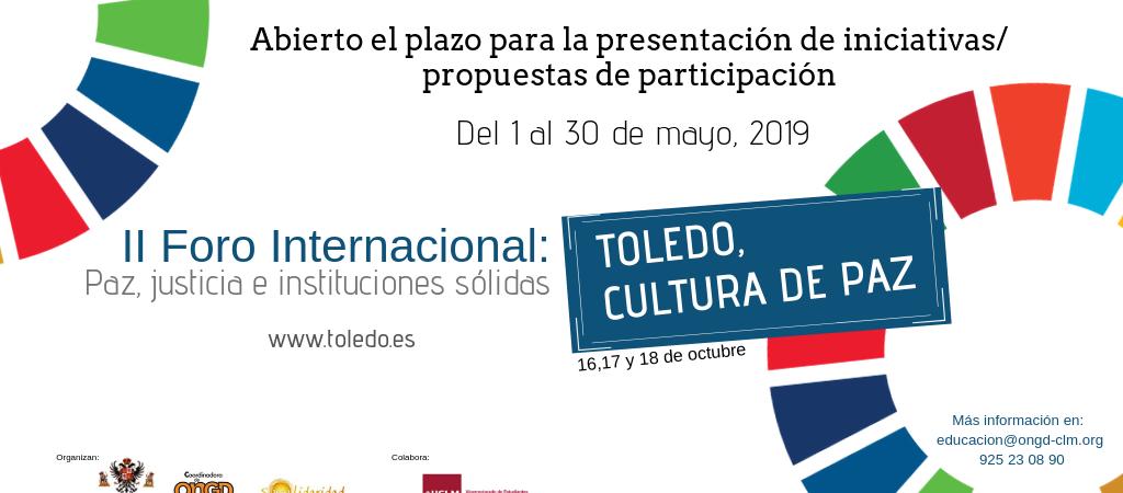 "II Foro Internacional ""Toledo, Cultura de Paz""…"