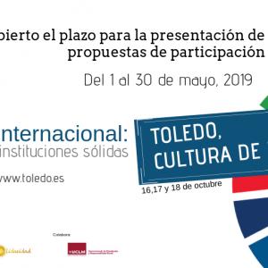 """I Foro Internacional """"Toledo, Cultura de Paz"""" (Paz, justicia e instituciones sólidas ODS16)"""