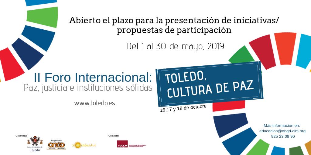 "http://www.toledo.es/wp-content/uploads/2019/05/redes-sociales_presentacion-propuestas.png. II Foro Internacional ""Toledo, Cultura de Paz"" (Paz, justicia e instituciones sólidas ODS16)"