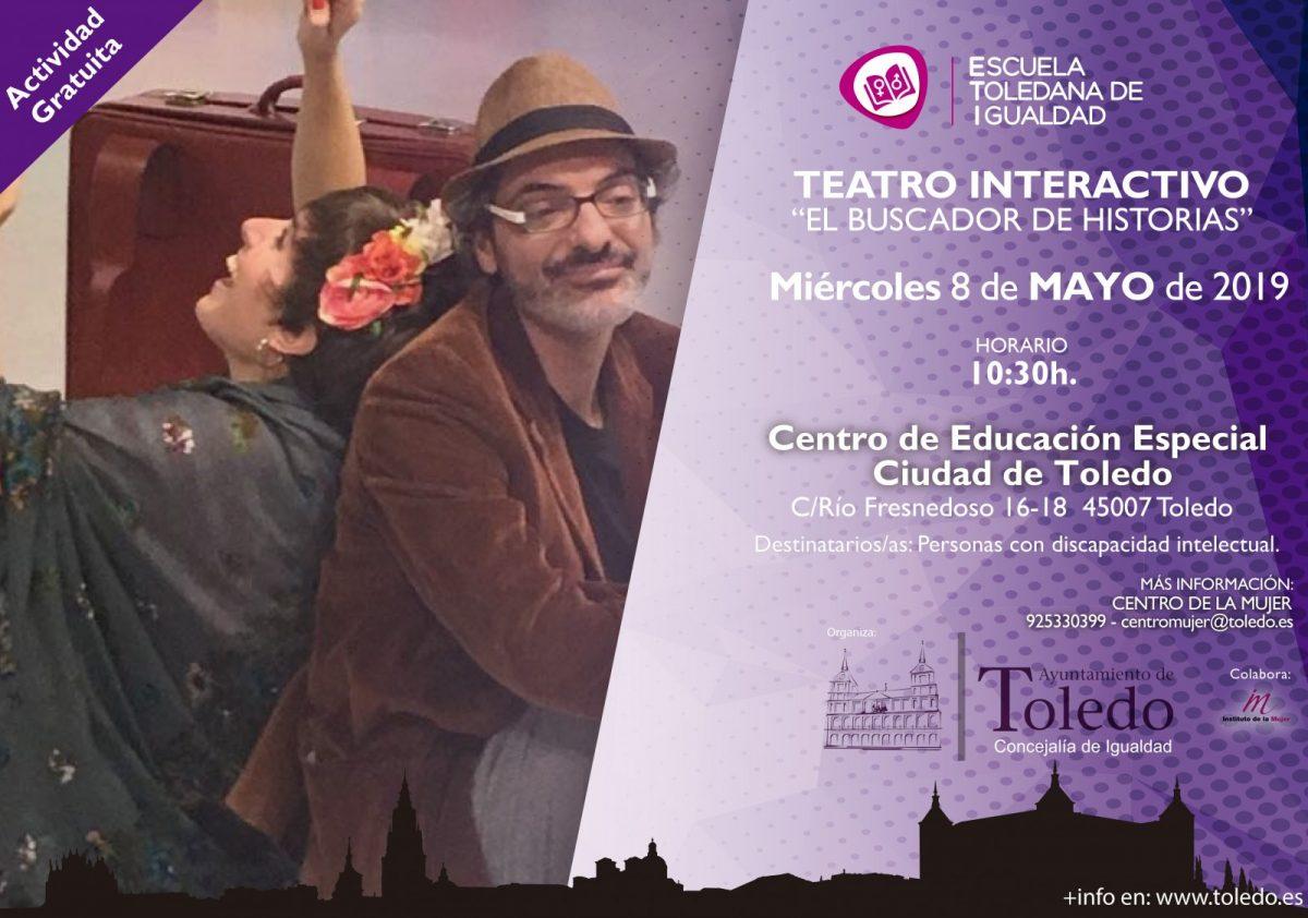 http://www.toledo.es/wp-content/uploads/2019/05/teatro-interactivo-discapacitados-1200x842.jpg. TEATRO INTERACTIVO PARA PERSONAS CON DISCAPACIDAD INTELECTUAL. ESCUELA TOLEDANA DE IGUALDAD.