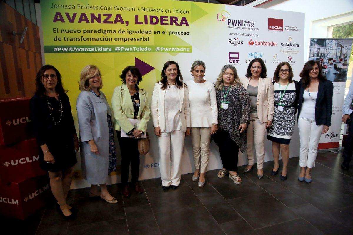 http://www.toledo.es/wp-content/uploads/2019/06/02_jornada_igualdad_pwm-1200x800.jpg. Milagros Tolón apuesta por poner en valor el liderazgo femenino en la gestión empresarial para lograr la igualdad real y efectiva