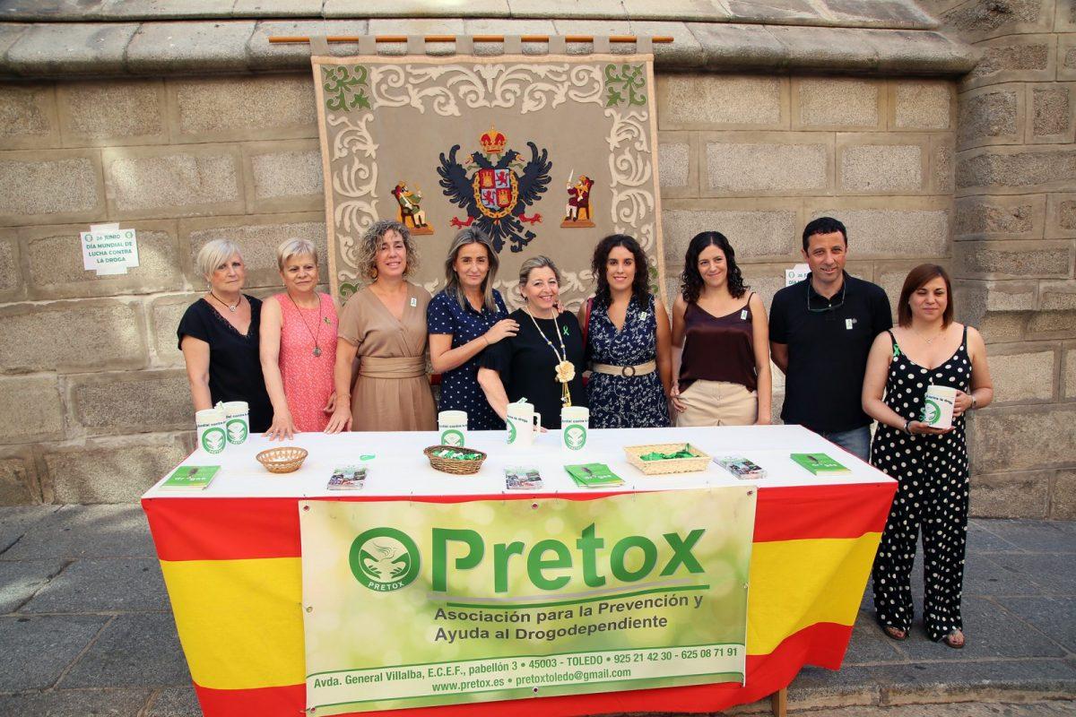 http://www.toledo.es/wp-content/uploads/2019/06/02_mesa_pretox-1200x800.jpg. La alcaldesa respalda, en el Día Mundial de la Lucha contra las Drogas, el trabajo de atención y prevención que realiza 'Pretox'