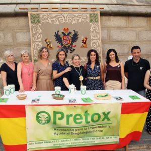 a alcaldesa respalda, en el Día Mundial de la Lucha contra las Drogas, el trabajo de atención y prevención que realiza 'Pretox'