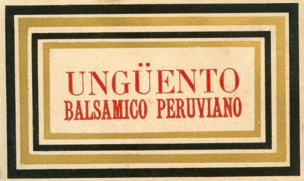 047_Ungüento Balsámico Peruviano