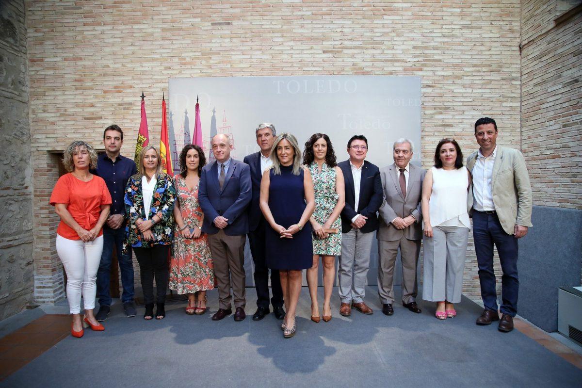 http://www.toledo.es/wp-content/uploads/2019/06/06_presentacion_gobierno-1200x800.jpg. Innovación y empleo, transición ecológica y mayores marcarán el nuevo Gobierno de la alcaldesa Milagros Tolón los próximos años
