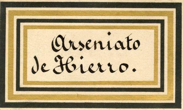 071_Arseniato de Hierro