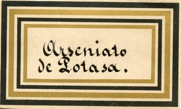 072_Arseniato de Potasa