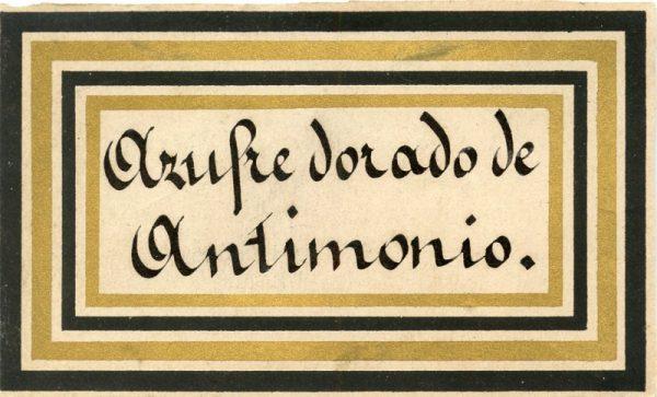 076_Azufre Dorado de Antimonio
