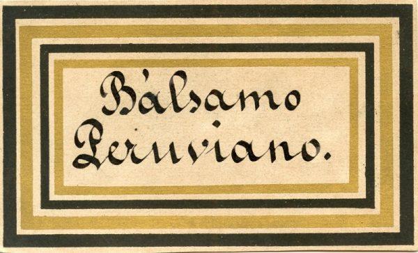 080_Bálsamo Peruviano
