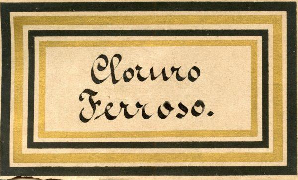 087_Cloruro Ferroso