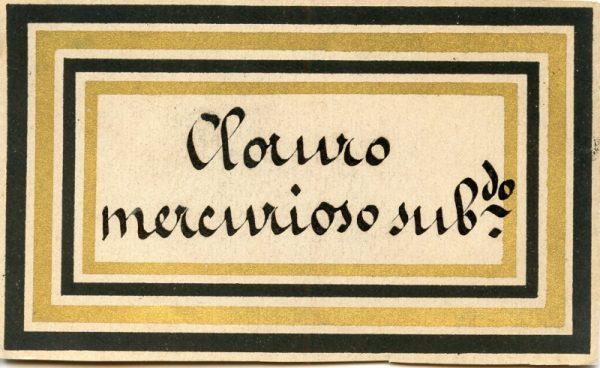 089_Cloruro Mercurioso Sublimado