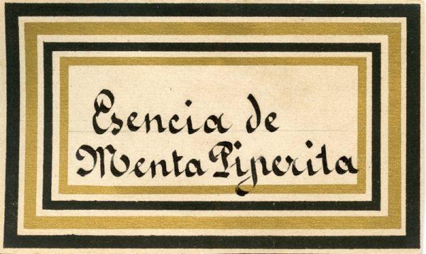 101_Esencia de Menta Piperita