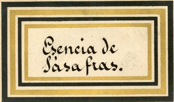 112_Esencia de Sasafras