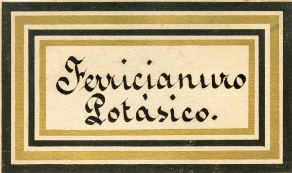 116_Ferricianuro Potásico