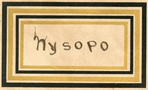 130_Hisopo