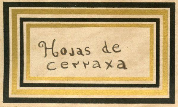 133_Hojas de Cerraja