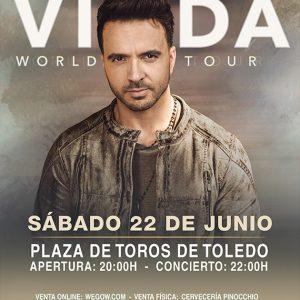 """Concierto de Luis Fonsi """"Vida World Tour"""""""