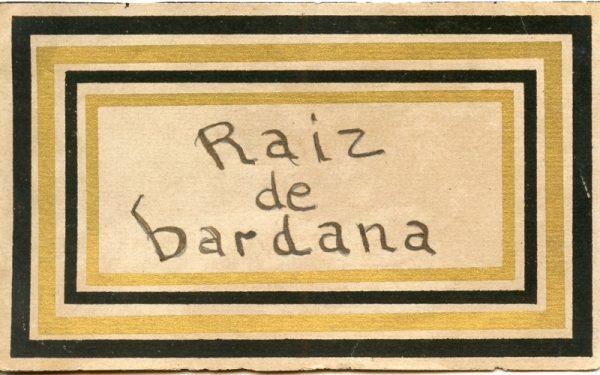 159_Raiz de Bardana
