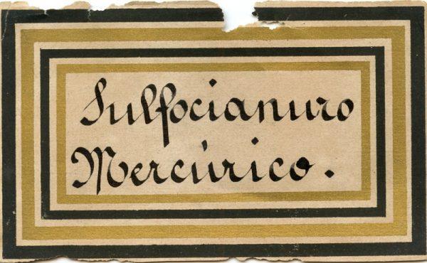 172_Sulfocianuro Mercúrico
