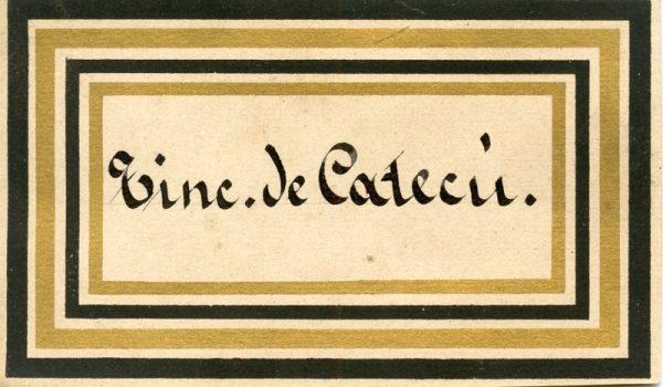 184_Tintura de Catecú
