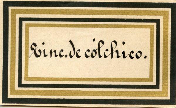 187_Tintura de Cólchico