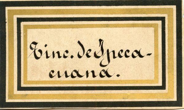195_ Tintura de Ipecacuana