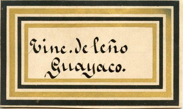 197_Tintura de Leño Guayaco