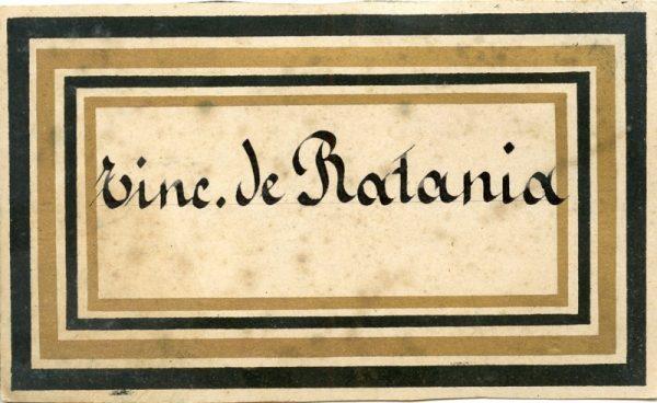208_Tintura de Ratania