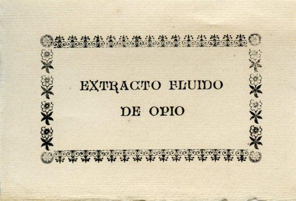 224_Extracto Fluido de Opio