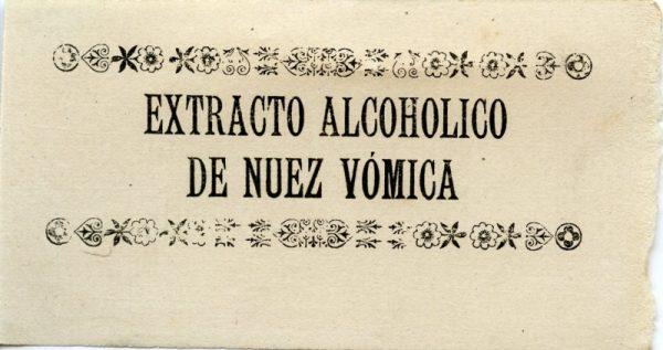 225_Extracto Alcohólico de Nuez Vómica